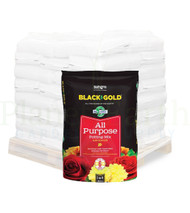 Black Gold All Purpose Potting Soil with CRF (2 cubic foot bags) in Bulk (80320018)  UPC 064277123206