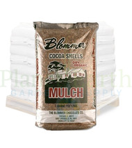 The Blommer Chocolate Co. Cocoa Shell Mulch is dry organic (2 cubic foot bags) in Bulk (80550001) UPC 760414261632