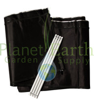 2' Height Extension Kit for the 4' x 4' Gorilla Grow Tent (GGT44EX) UPC 4646003858505