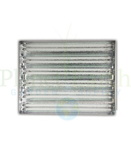 DoubleLux T5 HO (2' x 12) Florescent Light Fixture in Bulk (757212) UPC 4646003860348