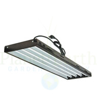 UltraGrow T5 Fluorescent (4' x 4) Lamp Fixture w/6500K Tubes (5022) UPC 4646003860904 (1)