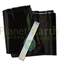 2' Height Extension Kit for the 3' x 3' Gorilla Grow Tent (GGT33EX) UPC 4646003861307