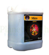 Cutting Edge Solutions Micro (CES240) 2.5 gallon liquid nutrient container front view, front label showing