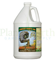 Emerald Triangle Deep Breath (1 gallon) (ETDBGAL) liquid nutrient container front view, front label displayed