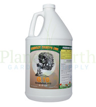 Emerald Triangle Gravitation #10 (1 gallon) G10 (ETG10) liquid nutrient container front view, front label displayed.