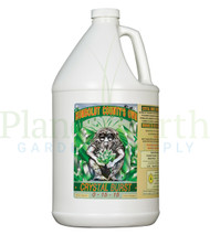 Emerald Triangle Crystal Burst (ETBURST) 1 gallon liquid nutrient container front view, front label displayed