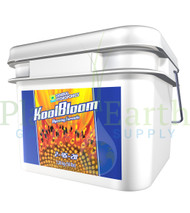 General Hydroponics KoolBloom (16 pounds) (GH1318) dry nutrient container front view, front label displayed