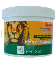 Green Gro Ultrafine Mycorrhizae All-in-One (GG1010) 1 pound dry nutrient front view, front label displayed.