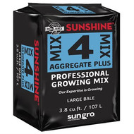 Sun Gro Sunshine #4 Mix with RESILIENCE (3.8 cubic foot Compressed Bales) in Bulk (SUN50438CFP) UPC 064277074447