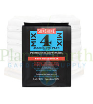 SunGro Horticulture Sunshine #4 with Mycorrhizae (3 cubic foot bales) in Bulk (714743) UPC: 10064277064094