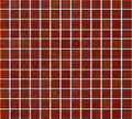 DaVinci glass tile  Leed amber series  Snappy red