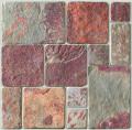 Multi color Via regio slate mosaic