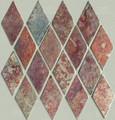 multi color Harlequin slate mosaic