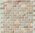 Desert sage brick pattern slate mosaic