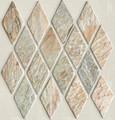 Desert sage Harlequin slate mosaic