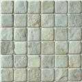 2x2 Spanish moss slate mosaic
