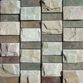 Multi color Rectangle combo slate mosaic