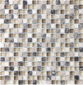 Tilecrest Eclipse Series Glass Stone Blend Mosaics Espresso