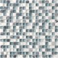 Tilecrest Eclipse Series Glass Stone Blend Mosaics Marina