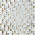 Tilecrest Eclipse Series Glass Stone Blend Mosaics Tranquility