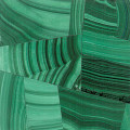 Malachite mosaic polished 2x2