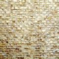 Shell mosaic Natural brick patern