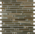 DaVinci glass tile handicraft II Linear series Santa Fe