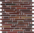 DaVinci glass tile handicraft II Linear series Frisco