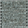 Equinox glass tile Black linear