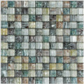 Equinox glass tile Multi color mixed