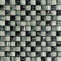Equinox glass tile Black and White