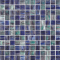 Puccini glass tile Watercolor Cerulean