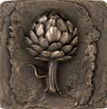 Le Artichoke Accent Tile 7.50 inches