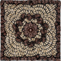 Athena Mosaic Medallion 12 inches