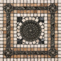Fresco Mosaic Medallion 12 inches