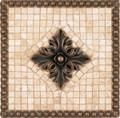 Tribecca Mosaic Medallion 12 inches