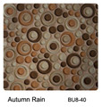 Raffi Bubbles Glass Tile Autumn Rain