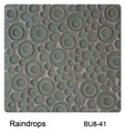 Raffi Bubbles Glass Tile Rain Drop