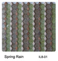 Raffi Illusions Glass Tile Spring Rain IL8-01