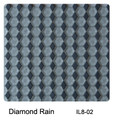 Raffi Illusions Glass Tile Diamonds Rain IL8-02