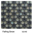 Raffi Illusions Glass Tile Falling Snow IL8-40
