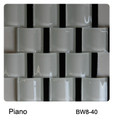 Raffi Jumbo Waves Glass Tile Piano BW8-20