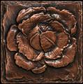 Metal decorative tile 6x6 Cabbage