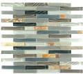 Nova glass and slate series Northampton Putty horizontal texture GS34