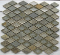 Soho Art Glass Rustic Slate diamond
