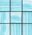 Pool tile White Horse Sunburst 042