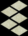 Cerdomus Pietra d' Assisi Rhomboid Decorative Tile Beige 5x5