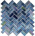 Nova Oceania Cobalt Sea 1x2 Herringbone