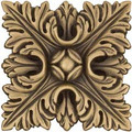 Landmark Metal Foliage Accent Tile 4 inches
