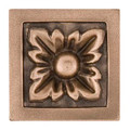 Landmark Metal Baroque Deco Accent Tile 2x2